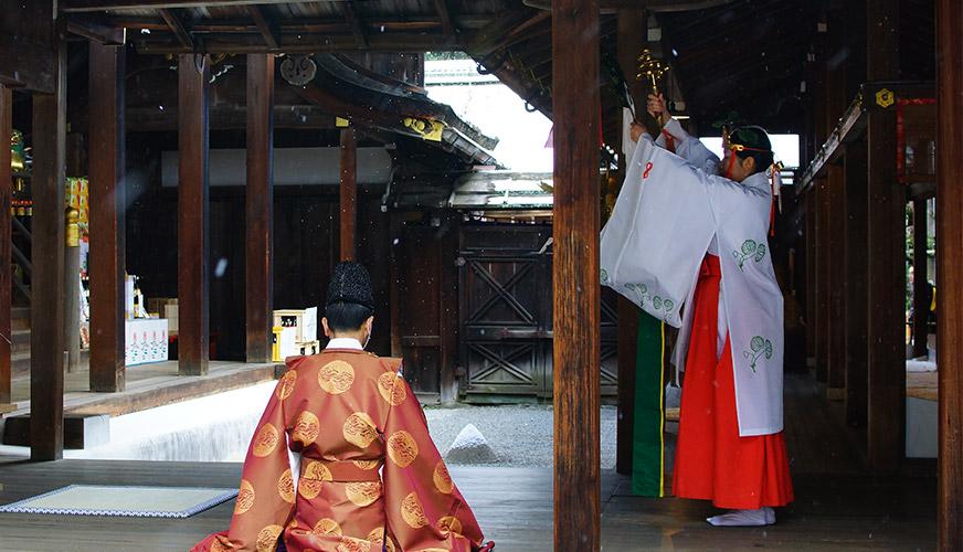 新年特別本殿祈祷