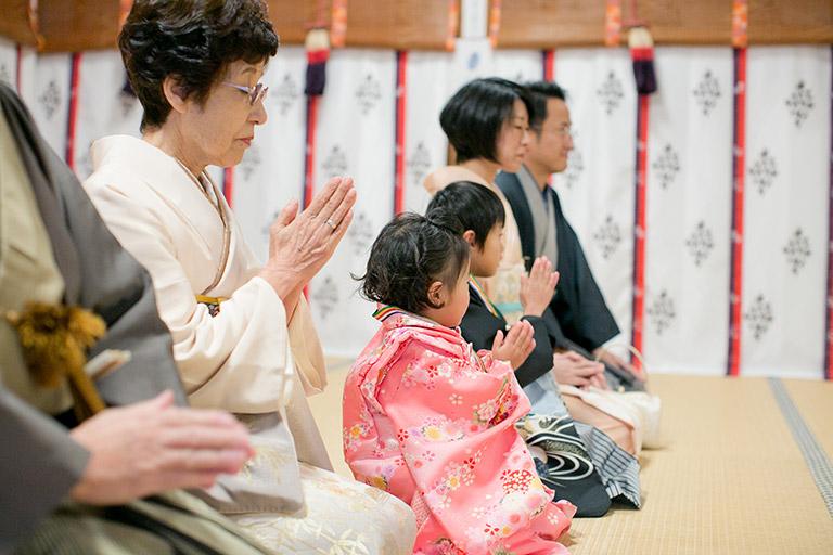 上賀茂神社 七五三詣